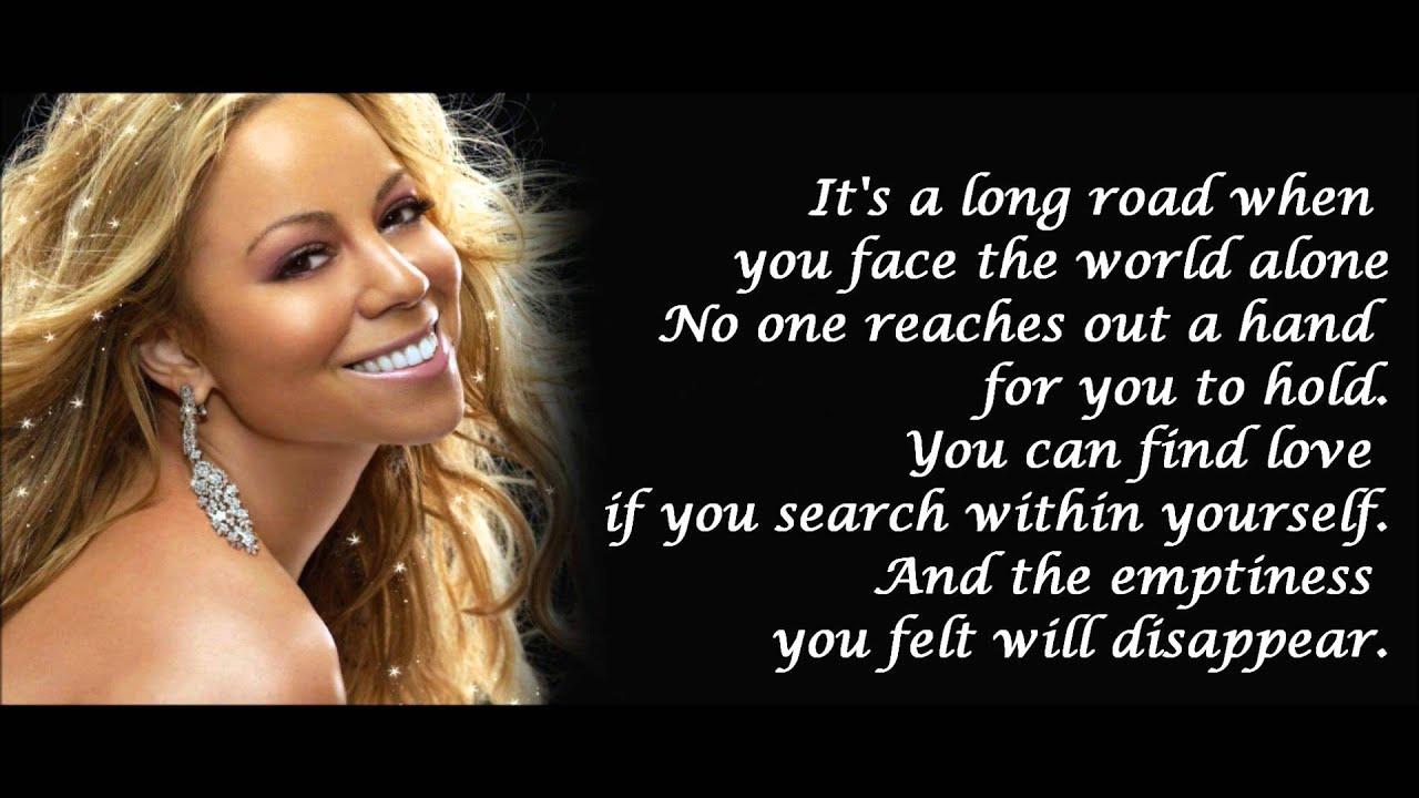 Mariah Carey - HERO + lyrics - YouTube Mariah Carey Hero