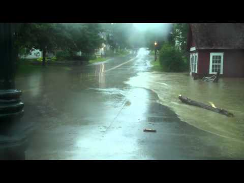 Grafton Vermont Irene Flood 8 28 11