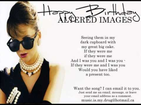 Altered Images - Happy Birthday Lyrics | MetroLyrics