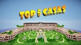 Minecraft ☆ TOP 5 CASAS ☆ 5º Edición 2014 + Descarga