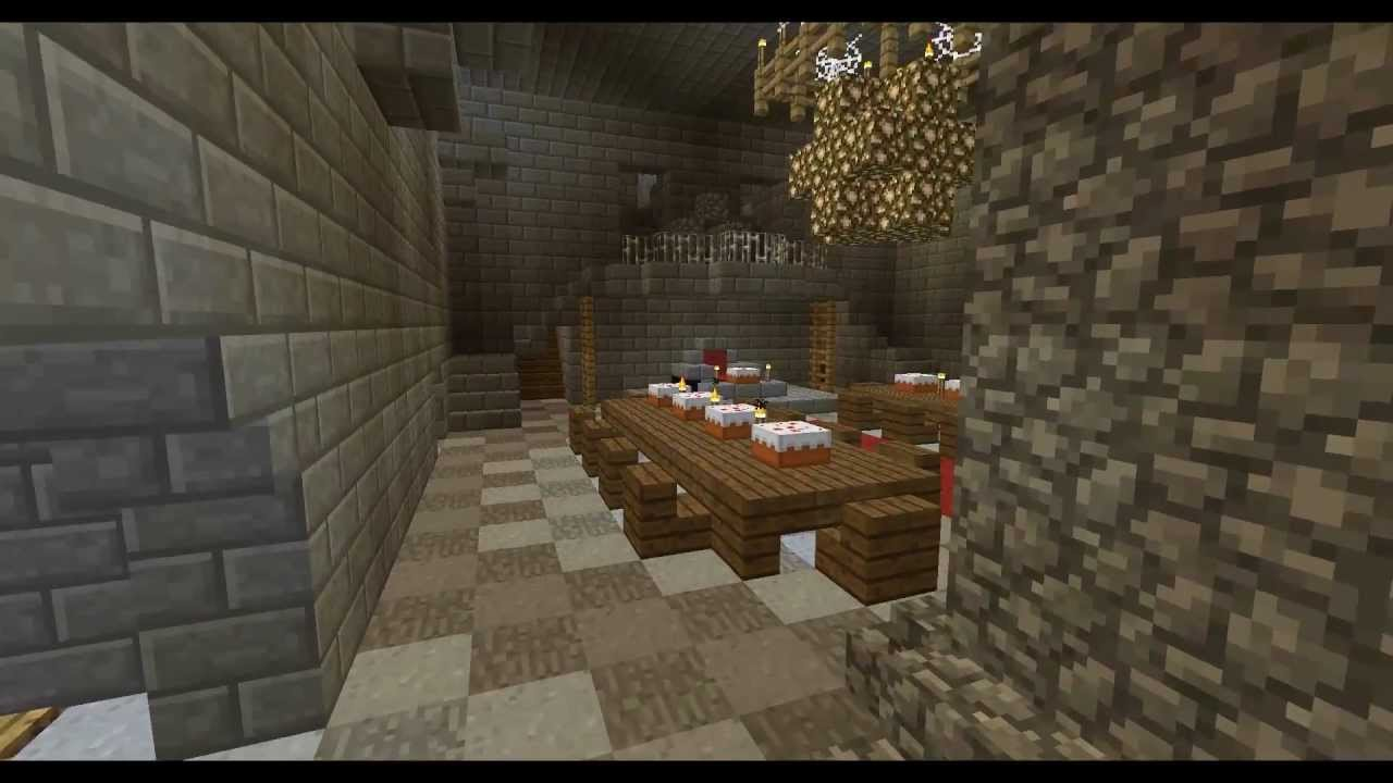 Minecraft Inside House