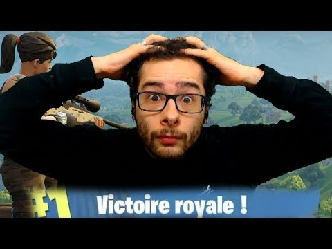TOP 1, FIN SOUS TENSION ! FORTNITE BATTLEROYALE