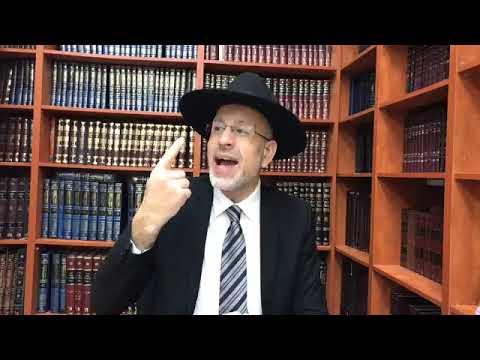 Rabbi Yaacov Abirsera La grandeur d une benediction pour la refoua chelma de Talya bat Myriam