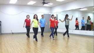 Wagon Wheel Rock Line Dance (Dance & Teach In English
