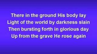 In Christ Alone (worship Video W/ Lyrics)