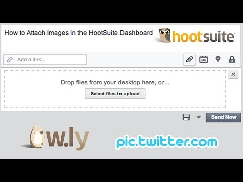 How to Attach Images in HootSuite