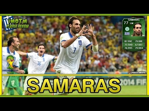 FIFA 14 UT - iMOTM Samaras || World Cup iMOTM Ultimate Team 77 Player Review + In Game Stats
