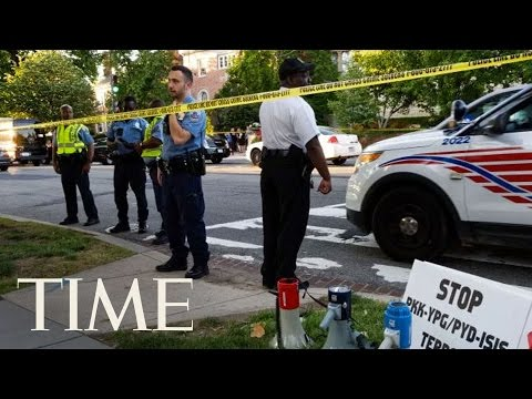 Violent Clashes Outside Turkish Embassy In Washington D.C. Injure 9 | TIME
