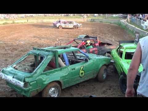 Grant County Mini car demolition derby 7-24-10