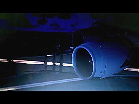 Qantas airlines airbus a380 landing ...