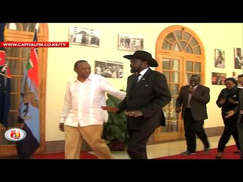 We are in charge of S. Sudan talks, Uhuru tells US