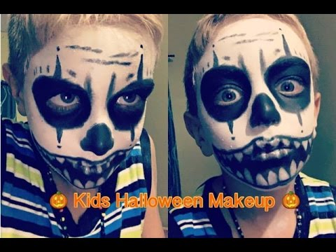 Kids Halloween Makeup Tutorial | Scary Clown | Bellabeauty868