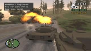 Gamer Max HD Gameplay GTA San Andreas Códigos TANK