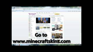 MineCraft How To Change Your Skin/Character [HD]