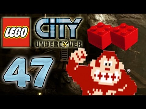 Let's Play Lego City Undercover Part 47: Donkey Kong Arcade Easter Egg