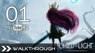 Child Of Light Walkthrough Gameplay Part 1 (Queen Of The