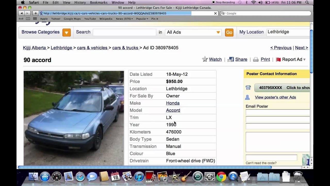 Kijiji Lethbridge Used Cars And Trucks Models Under