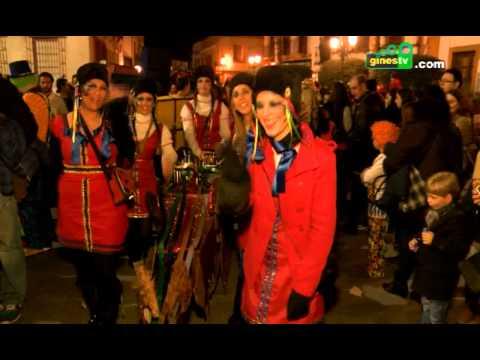 Multitudinaria participación sin precedentes en el Gran Desfile de Carnaval de Gines