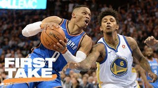 Stephen A. and Max debate if Thunder are threat to Warriors | First Take | ESPN