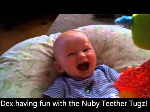 Nuby Teether Tugz Toy Review