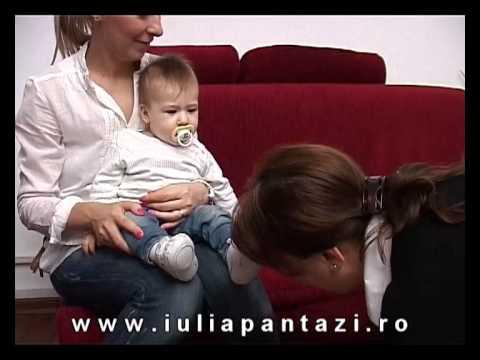 Stimularea atentiei copilului intre 1 si 6 luni