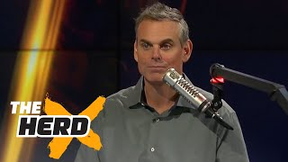 Sorry Wisconsin football fans, Colin doesn't like your team's chances | THE HERD