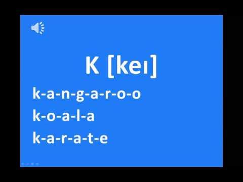 Phát âm bảng chữ cái tiếng Anh chuẩn