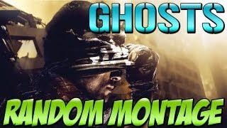 Call of Duty GHOSTS: Random Montage (Call of Duty Ghosts Multiplayer Gameplay) HD