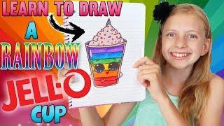 Cute Jello Cup    Art with Alyssa