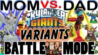 Mom & Dad Play Battle Mode: VARIANTS! Polar Whirlwind