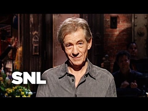 Ian McKellen Monologue - Saturday Night Live