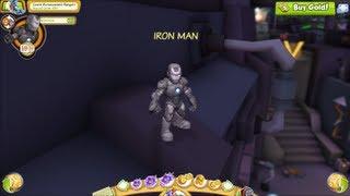 Video Marvel Super Hero Squad Online Iron Man Mark II Gameplay