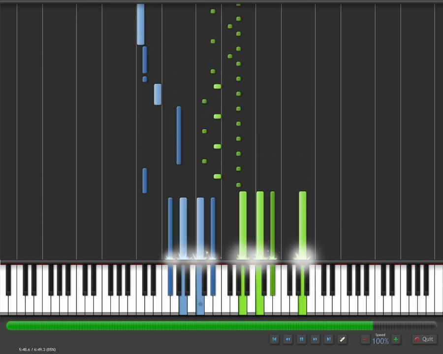play moonlight sonata 3rd movement