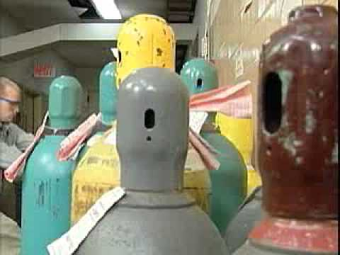 Handling Compressed Gas Cylinders in the Laboratory Safety Video Program