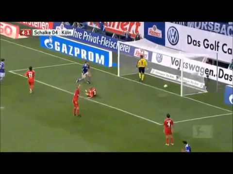 Alle Tore für Schalke von Klaas Jan Huntelaar