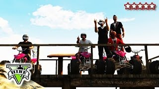 GTA 5 ATV JUMPS And STUNTS!! Quad Bike Crew FreeRoaming