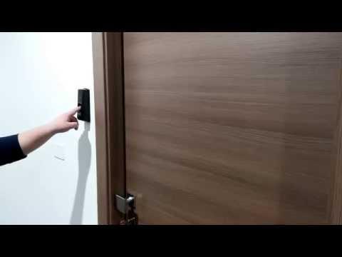T5 Controllo accesso porta uffici con impronta digitale