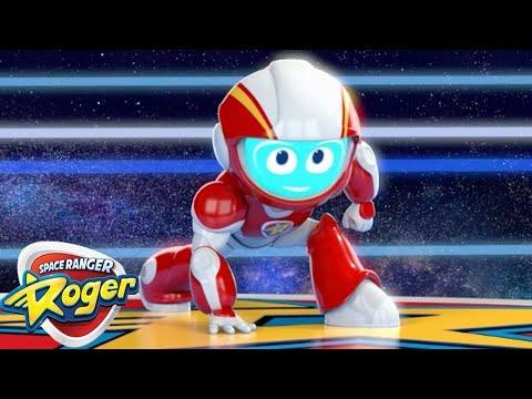 Space Ranger Roger | Episode 1 - 3 Compilation | Funny Videos For Kids