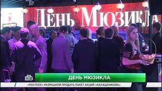 Сюжет телеканала НТВ о Дне мюзикла-2017