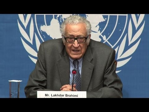 Brahimi not expecting 'substantive' results at Syria talks
