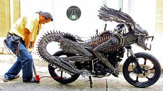 10 FANTASTIC MOTORCYCLES WHICH ACTUALLY EXIST!
