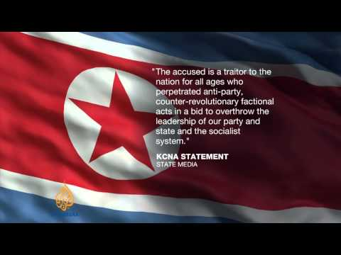 North Korea says Kim Jong-un's uncle executed