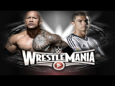 WWE WrestleMania 31 - The Rock vs Cristiano Ronaldo - WWE 2K15