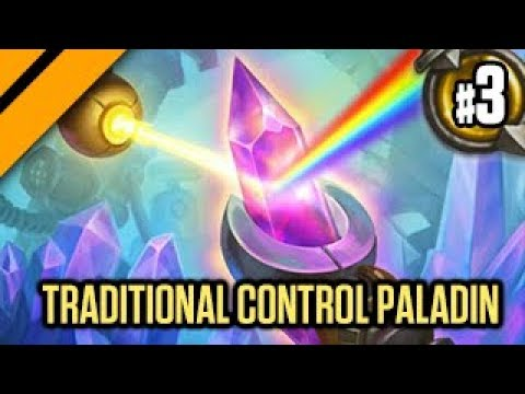 Hearthstone: Boomsday Experimental - Traditional Control Paladin P3