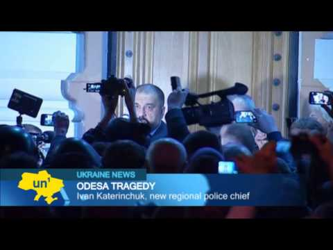 Odesa citizens back new police chief as Ukrainian patriots mourn victims of Trade Union fire