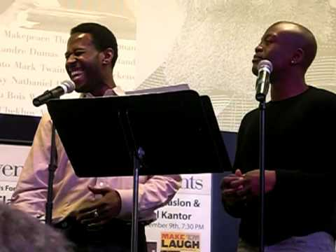 Blessing- sung by Titus Burgess & Marcus Paul James
