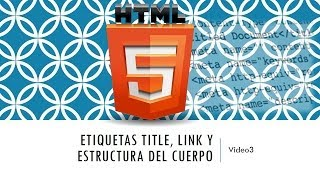 Curso de HTML 5. Parte 3