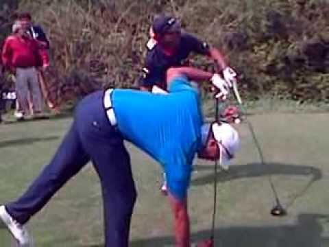 Tiger Woods first Indian tour.