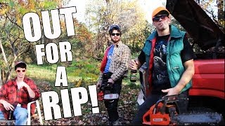 Superb Awful Video With Hockey References: OUT FOR A RIP (video)