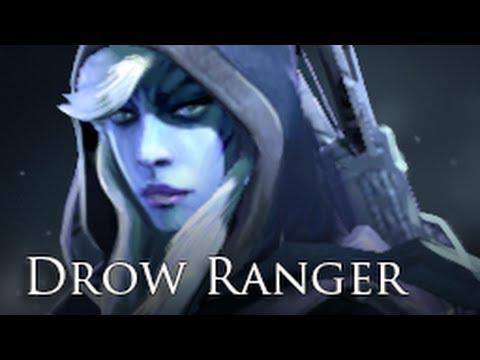[#032] Bien débuter avec Drow Ranger en 3 min ! DotA 2 FR
